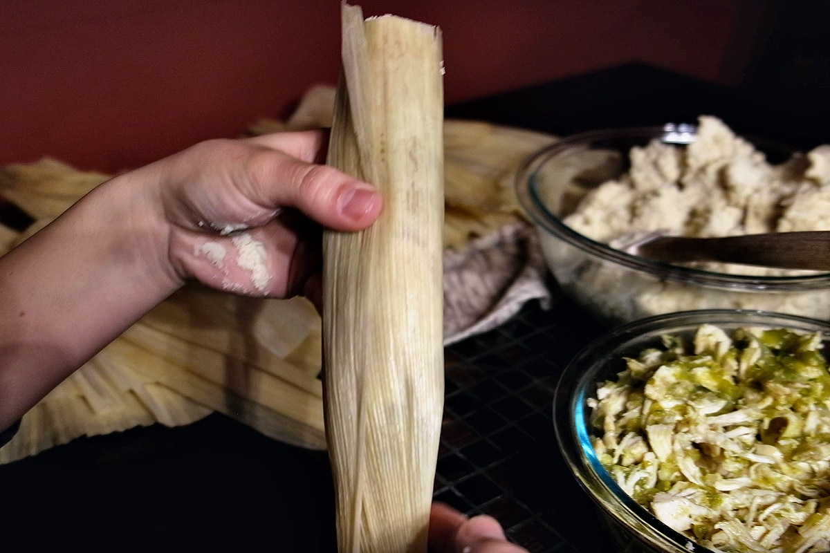 Tamale rolling part 2